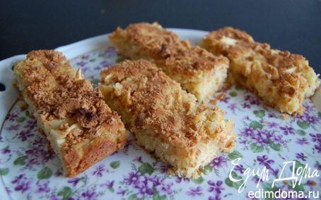 Рецепт Яблочный пирог с миндальным печеньем