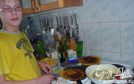 Рецепт Масленица-кукурузные блинчики