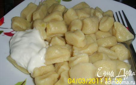 Рецепт Галушки бабушкины.