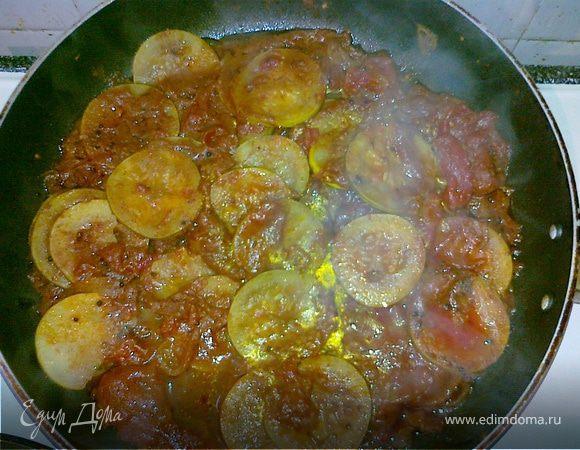 Кабачковое карри с помидорами(Courgette Curry with Tomatoes)