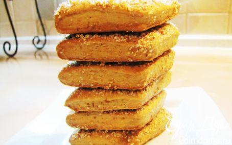 Рецепт Ореховое печенье...на яблочном соке...