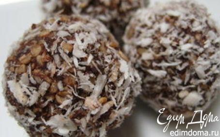 Рецепт Шарики «Шоколадное блаженство»