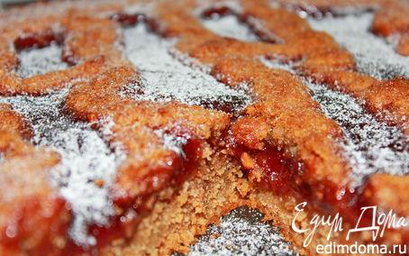 Рецепт Ореховый пирог с джемом