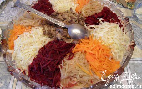 """Рецепт Салат не только полезный, но и красивый """"Чафан"""""""
