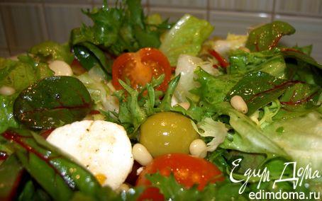 Рецепт Просто салат (а-ля итальяно)