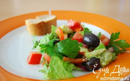Рецепт Греческий салат. Мой вариант