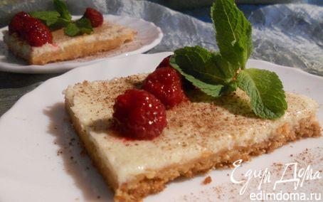 Рецепт Пирог со сгущенным молоком и лаймово-мятными нотами