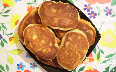 Рецепт Жареные пирожки из творожного теста