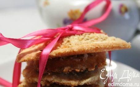 Рецепт Домашнее ванильно-ореховое печенье