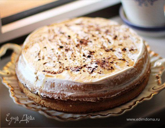 Бисквитный легкий торт рецепт