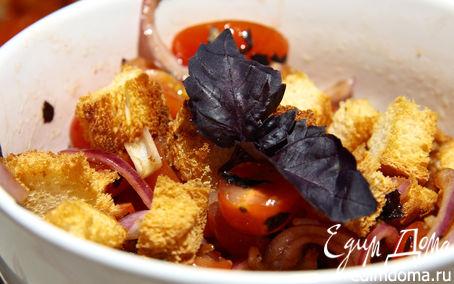 Рецепт Panzanella-итальянский салат с черствым хлебом