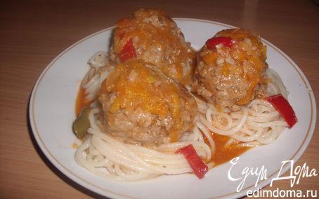 Рецепт тефтельки для сынульки с папулькой