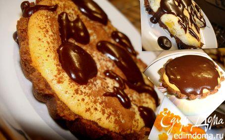 Рецепт Корзинка, картошка, творожка и… шоколадная крошка…
