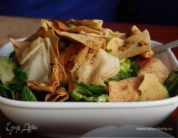Фатуш, крестьянский салат