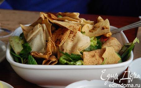 Рецепт Фатуш, крестьянский салат