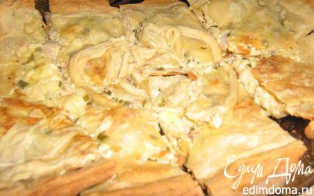 """Рецепт Греческий пирог или """"Не только греческие боги готовят тесто фило"""":-)"""