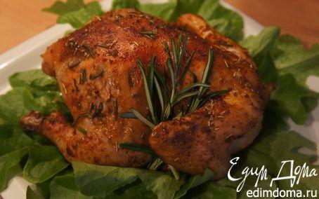 Рецепт Цыпленок розмариновый с соусом песто