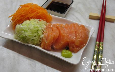 Рецепт Сашими из лосося