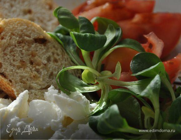 Легкий средиземноморский салат