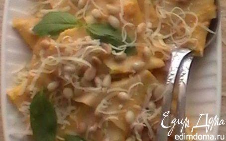 Рецепт Домашняя паста с тыквенным соусом