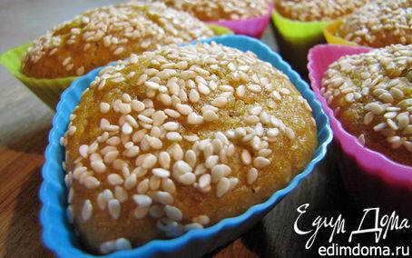 Рецепт Кексы мандариново-ореховые