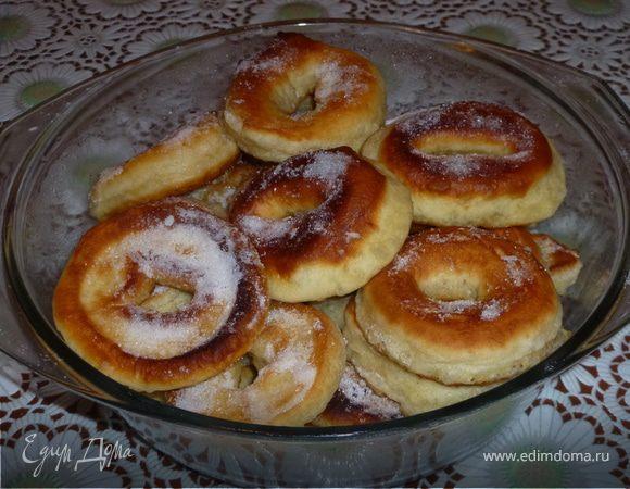 Домашние пончики