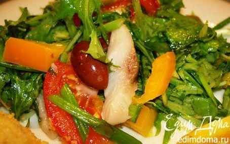Рецепт Греческий пикантный салат