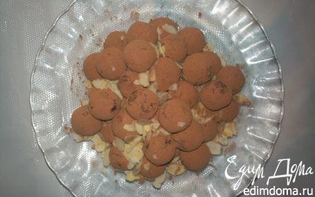 Рецепт Пикантные шоколадные трюфели с плавленым сыром