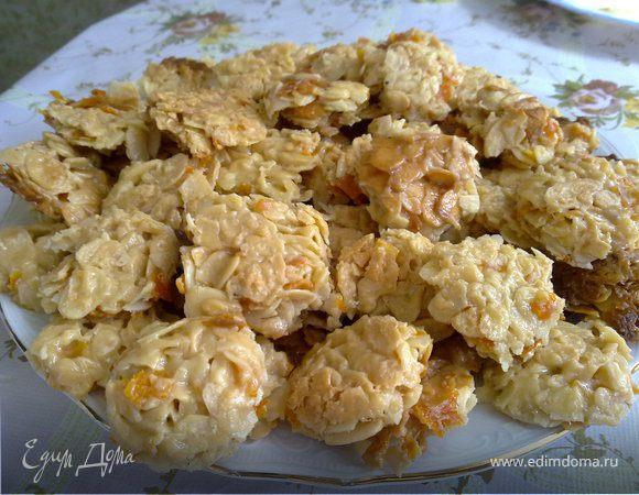 Флорентины (печенье из миндальных лепестков)