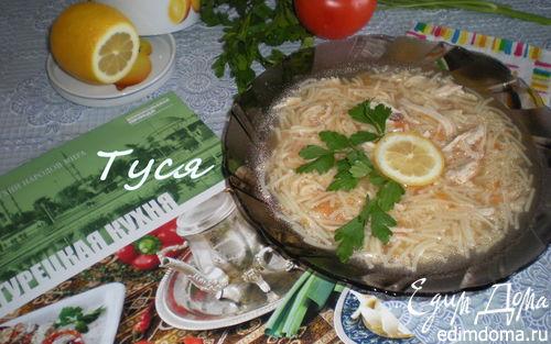 Рецепт Куриный суп по-турецки