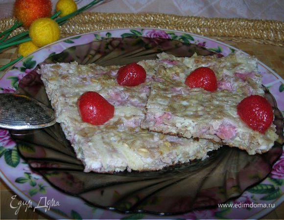 Мультизлаковый омлет с фруктами