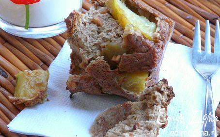 Рецепт Арахисовые маффины с яблоком!