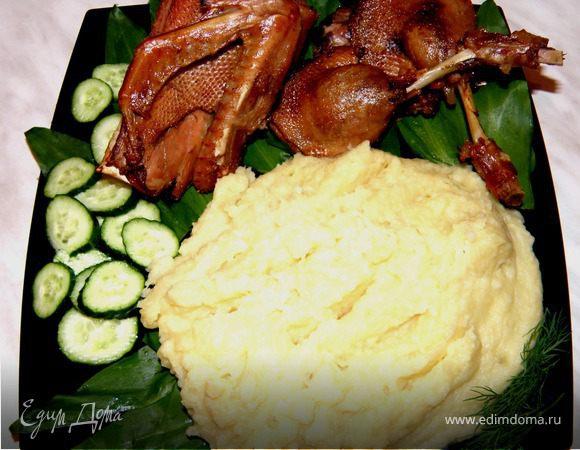 Ужин для любимого мужа или Утка в яблочном соке