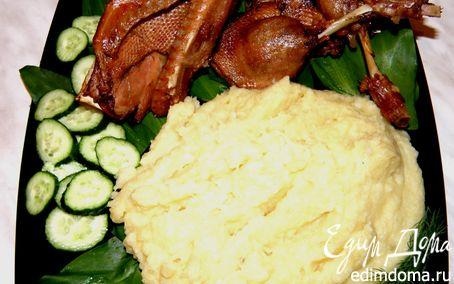 Рецепт Ужин для любимого мужа или Утка в яблочном соке