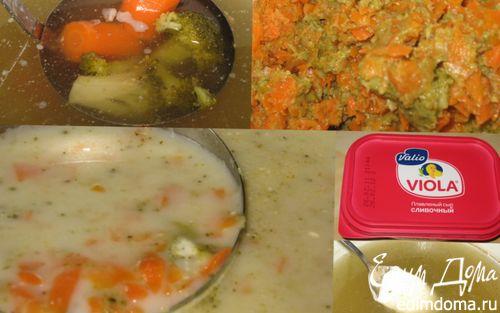 Рецепт Суп-пюре из брокколи с морковью или наоборот