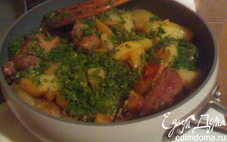 Рецепт Жаркое из свинины и картофеля