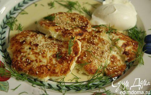 Рецепт Жареные пирожки из картофеля и творога