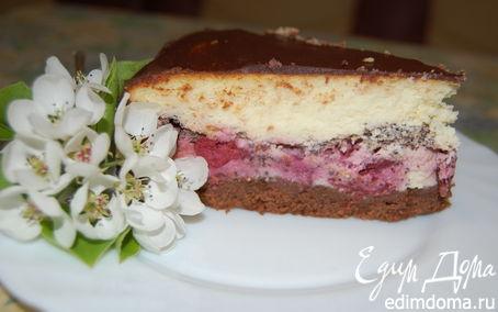 Рецепт Вишнево-шоколадный сырник