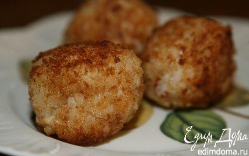 Рецепт Рисовые шарики с моцареллой