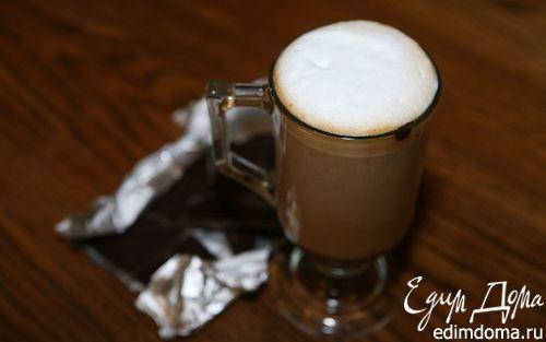 Рецепт Кофе эспрессо с шоколадом и взбитым молоком