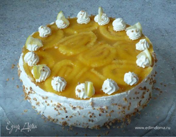 Загадочный сметанно-сливочный торт