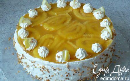 Рецепт Загадочный сметанно-сливочный торт