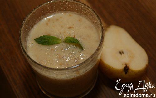 Рецепт Грушевый смузи с йогуртом и апельсиновым соком