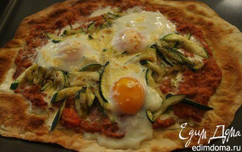 Рецепт Лаваш с красной фасолью, цукини и помидорами