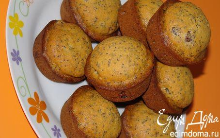 Рецепт Маково-пряничные кексы