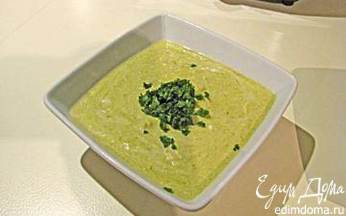 Рецепт Зелёненький-полезненький супчик из спаржи.