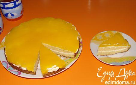 """Рецепт Торт """"Блондинистый апельсин"""""""