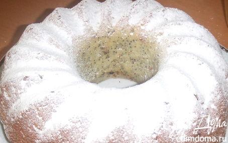 Рецепт Кекс маковый с изюминкой