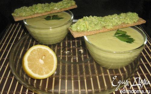 Рецепт Суп-крем из кабачков с авокадо