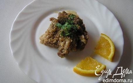 Рецепт Свинина в арахисово-апельсиновом соусе